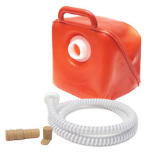 Fecal Collector Includes connector, secure threaded cap, and 5ft. of strong durable spiral tubing.