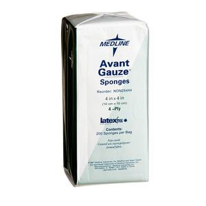 Medline Avant Gauze® Dressing Sponges 4 ply 4x4