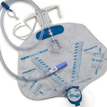 6206 Curity™ Bedside Drainage Bag with Anti-Reflux Chamber
