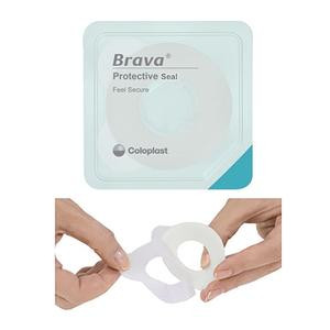 "12047 Coloplast Brava Protective Seal, 1-1/8"" Starter Hole, Thick"