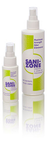 Sani-Zone Fecal Odor Eliminator Spray, 2 ounce (both 2 ounce and 8 ounce shown)