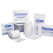 "Kendall Kerlix™ Sterile Gauze Bandage Rolls, Soft Pouch, Small 2-1/4"" x 3yds"