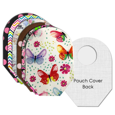 C&S Ostomy Pouch Covers Sassy Set