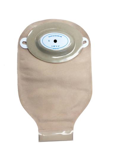 7544-R-C Nu-Flex Adult Ostomy Pouch