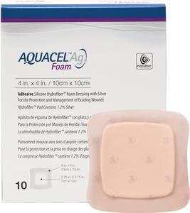 ConvaTec AQUACEL® Ag Foam Adhesive Dressing 420627