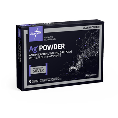 Ag+ Powder Antimicrobial Wound Dressing with Calcium Phosphate, 10 gm