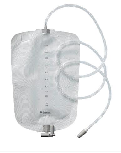 21356 Coloplast Conveen® Bedside Night Bag 2 Liter, Large, Sterile