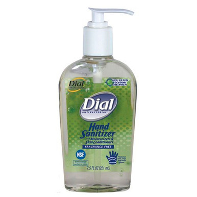 Dial Hand Sanitizer with Moisturizer Pump Top 7.5 oz.