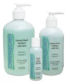 Instant Hand Sanitizer with Aloe Vera 4 ounce