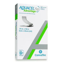 "Aquacel® Ag Advantage Wound Dressing, Ribbon, 0.75"" x 18"", EACH"