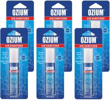 Ozium 0.8 oz Air Sanitizer & Odor Eliminator Spray, 6 Pack