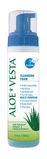325208 Aloe Vesta Cleansing Foam 8 ounces