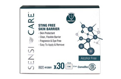 413501 SensiCare Sting Free Protective Skin Barrier Wipes