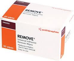 Remove™ Adhesive Remover Wipes by Smith & Nephew