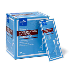 Povidone Iodine Swabsticks (75/box)