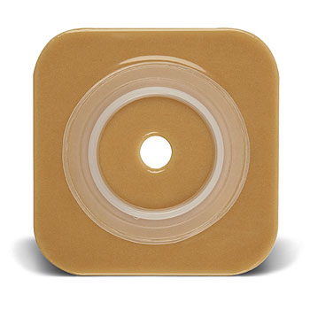"SUR-FIT Natura Stomahesive Skin Barrier with Flange, without tape collar (overall dimension 4"" x 4"")"