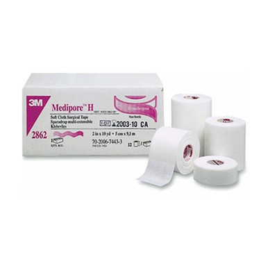 3M Medipore™ H Hypoallergenic Soft Cloth Surgical Tape