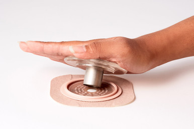Ostomy Stoma Hole Cutter Tool by Nu-Hope Laboratories.