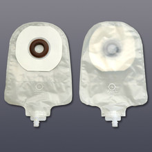 Karaya 5 One Piece Ostomy Urostomy Pouch (transparent), Karaya 5 standard wear skin barrier.  Includes tape border, odor barrier film, and belt tabs.  Does not include ComfortWear Panels. There are ten pouches per box.