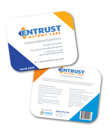 Entrust Crescent Barrier Extension Strips (30/bx)