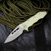 Guardian Tactical Helix Nano knife in Jade Green G-10 with a beadblast blade.