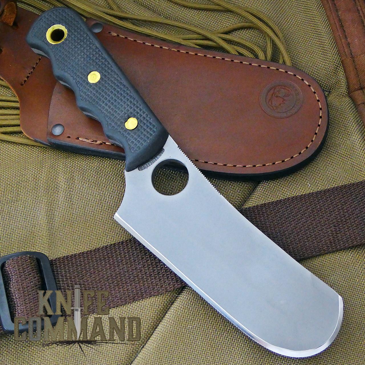 Knives of Alaska Brown Bear Cleaver Suregrip Hunting Knife.  Great for big game.