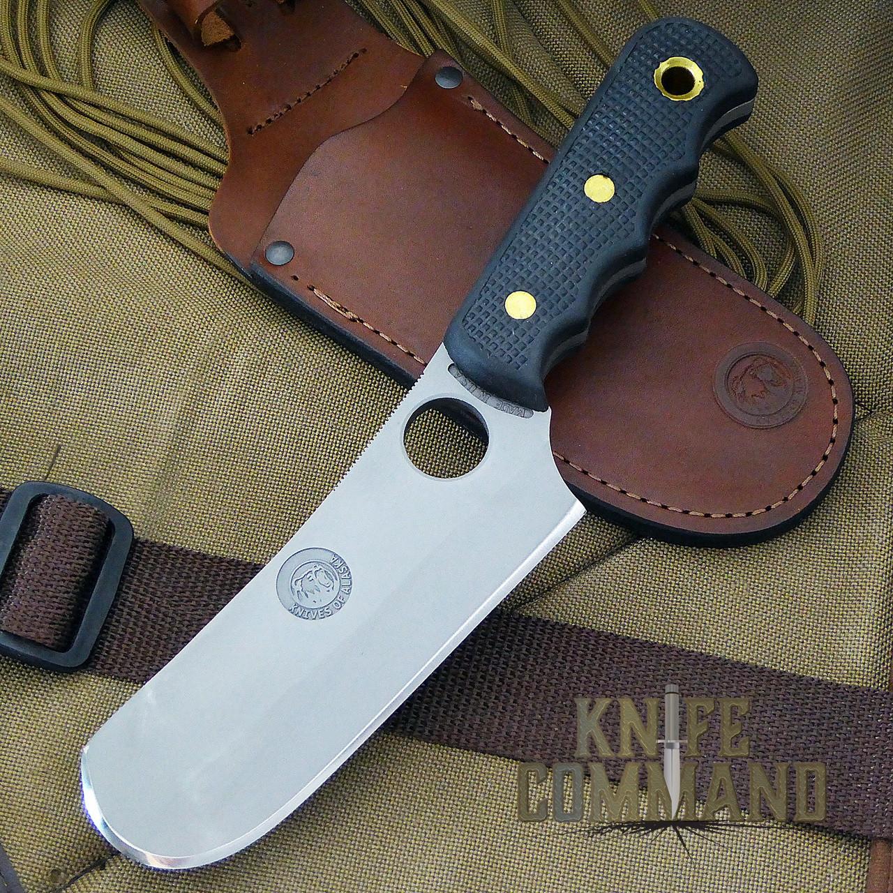 Knives of Alaska Brown Bear Cleaver Suregrip Hunting Knife