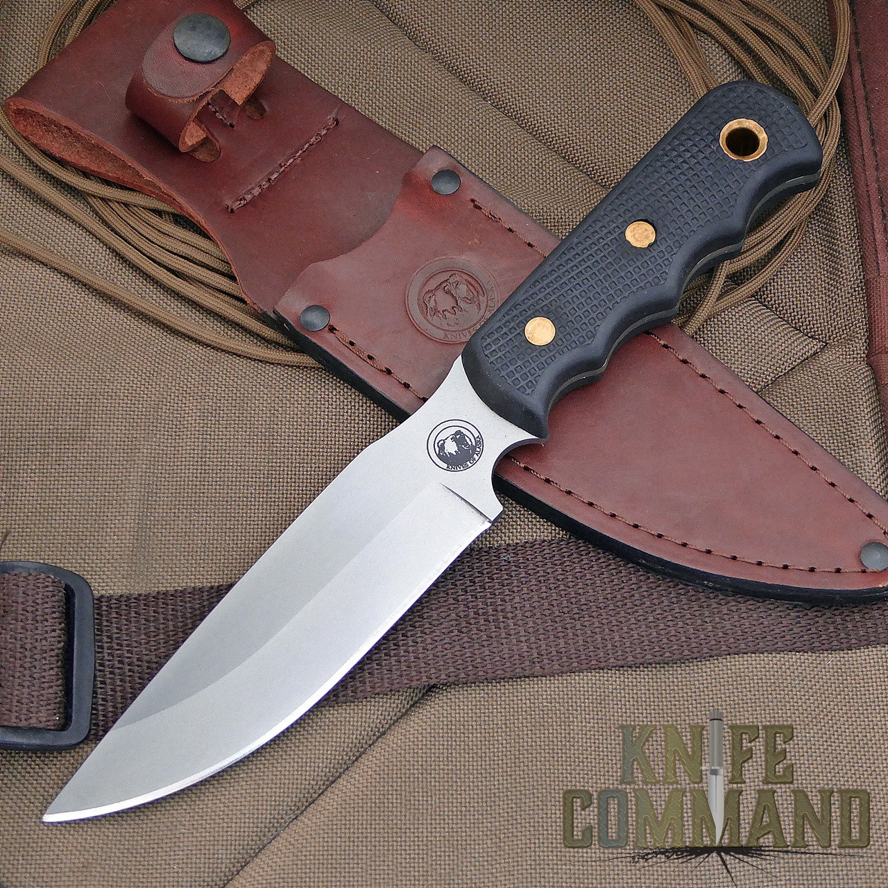 Knives of Alaska Bush Camp Hunting Knife.