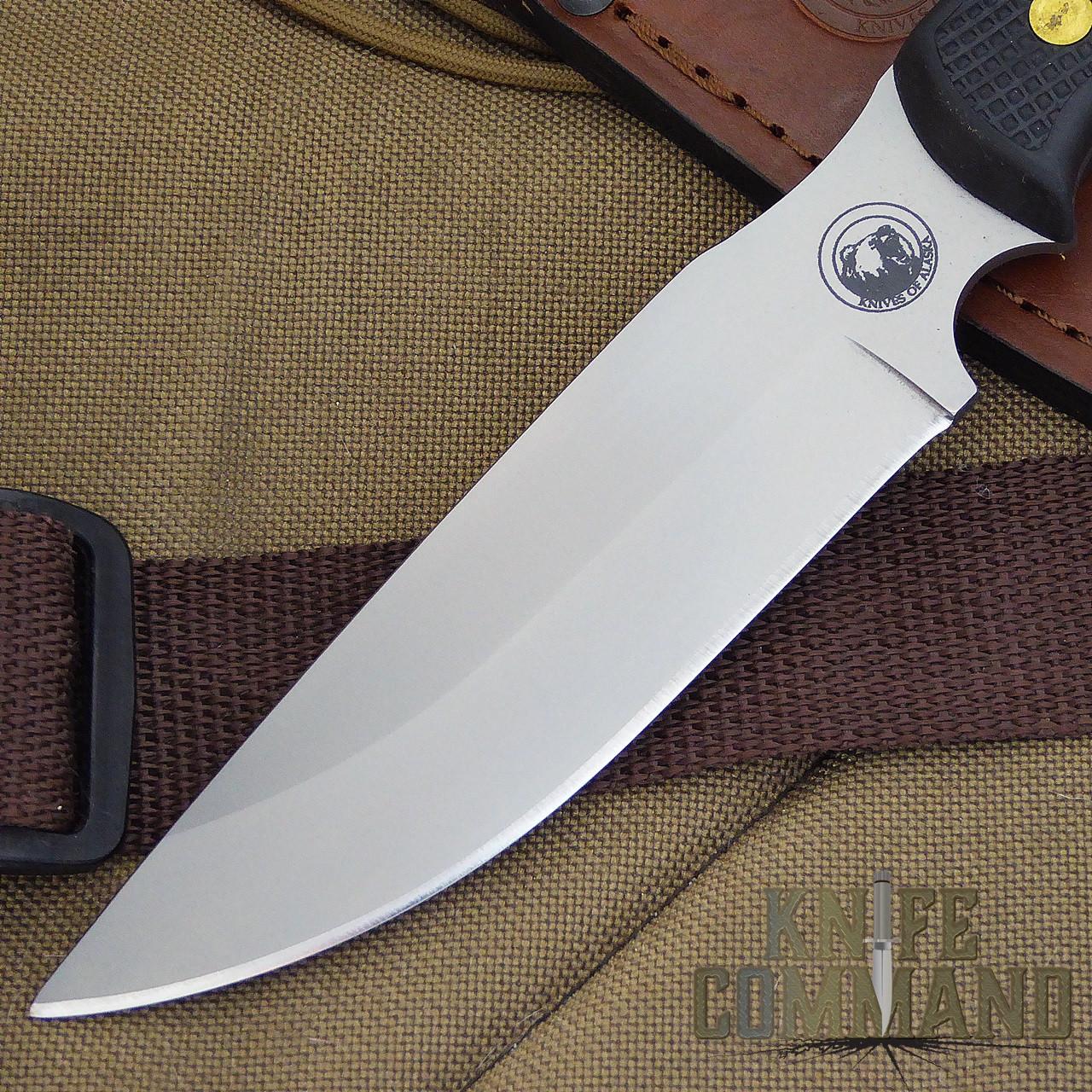Knives of Alaska Bush Camp Hunting Knife.  D2 steel blade.