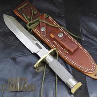 Randall Made Knives Model 18 Attack & Survival Knife.  Model C Combat sheath.