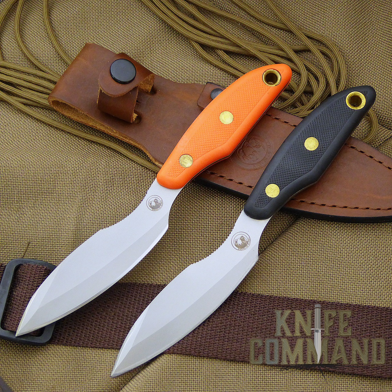 Knives of Alaska Yukon Belt Knife.  A modern version of a long time favorite.