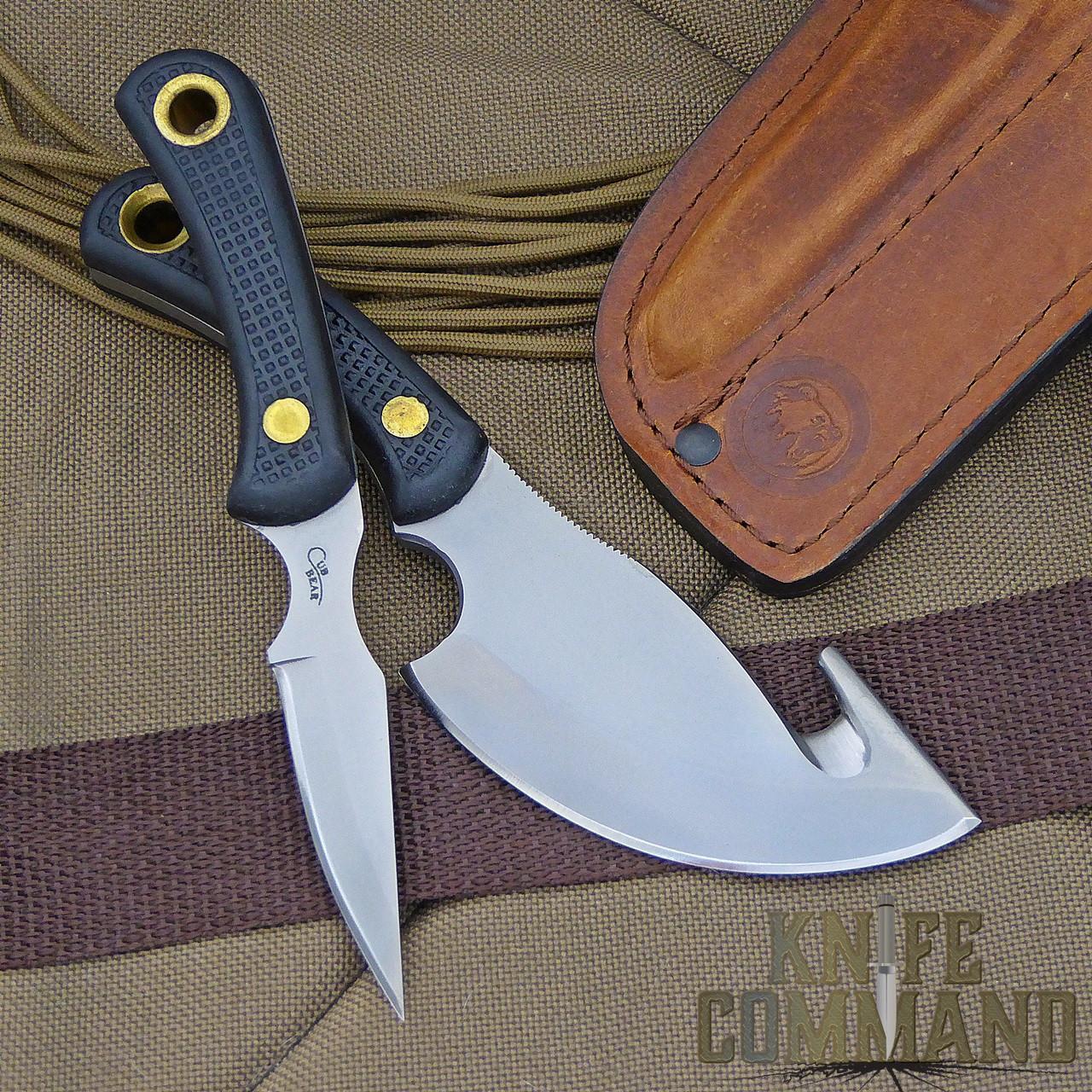Knives of Alaska Light Hunter Suregrip Hunting Knife Combo.  Great for deer, sheep, and mountain goat.