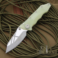 Guardian Tactical Deltrix Nano Jade Green Knife.   Jade green G-10 Combat Triton handle.