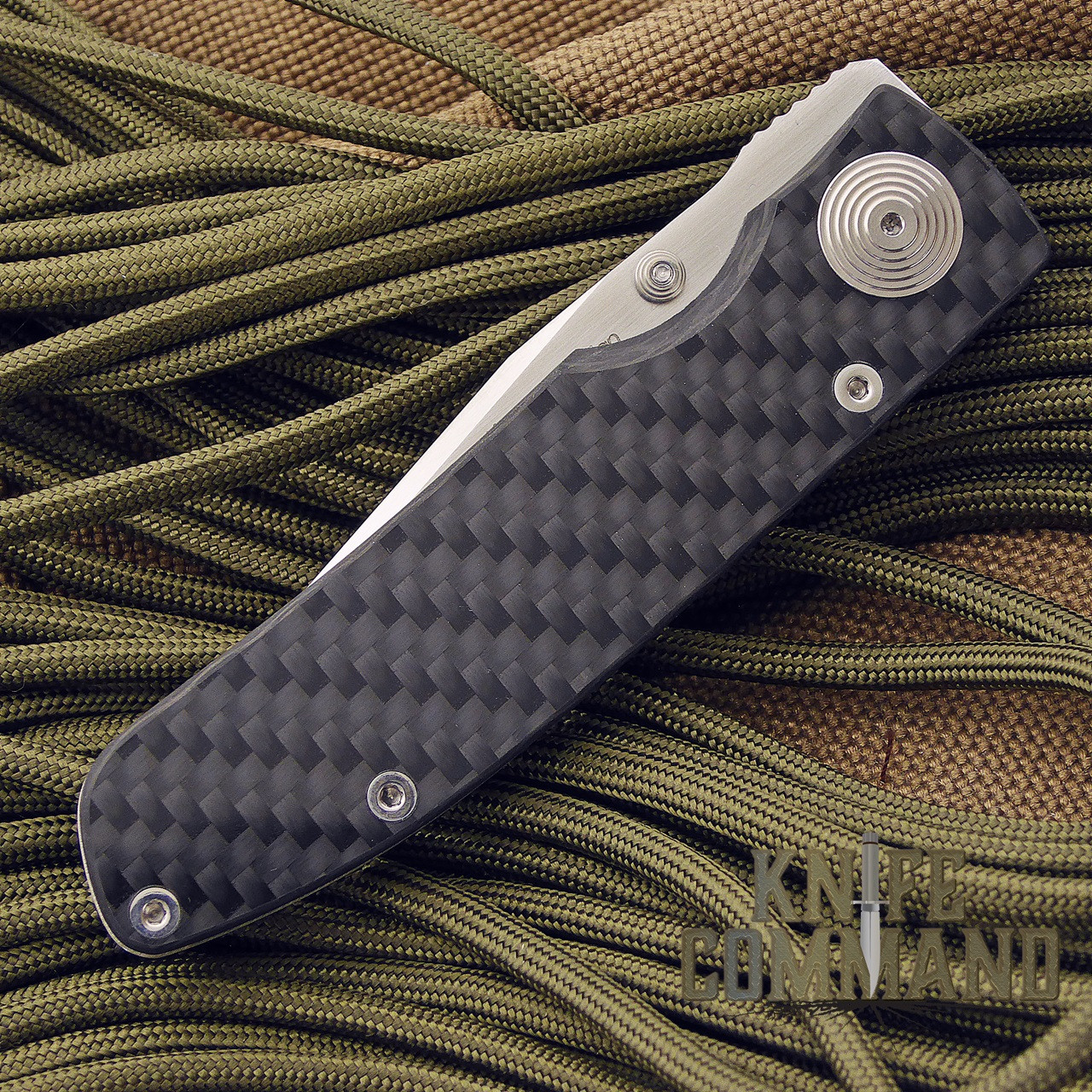Klotzli Knives Michael Walker ACC-M1-C Carbon Fiber Titanium Folding Knife.  Perfect for every day carry.