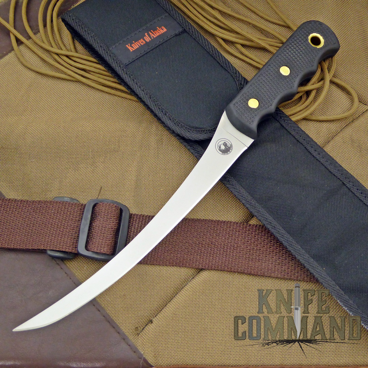 Knives of Alaska Coho Fillet Knife.  One of the best fillet knives available.