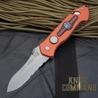 Eickhorn Solingen PRT II Red Firefighter Emergency Rescue Knife.  The Original pocket rescue tool!