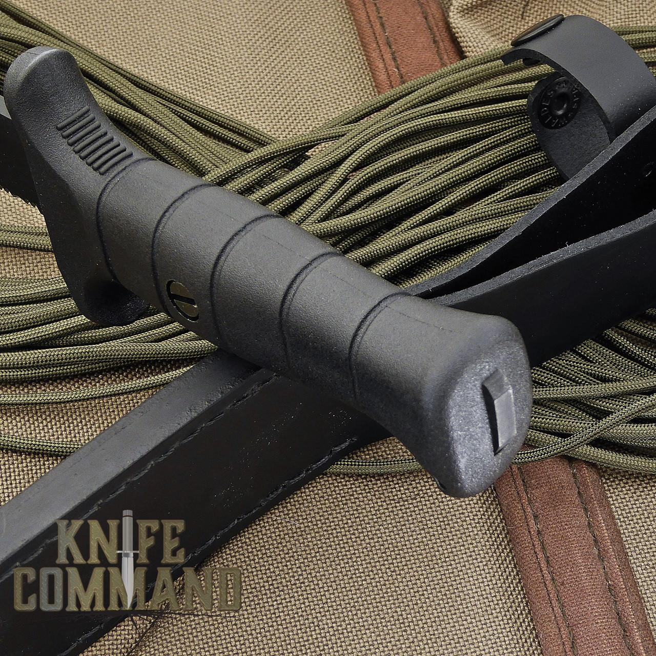 Eickhorn Solingen Wolverine German Expedition Knife.  Mil spec handle with glass breaker.