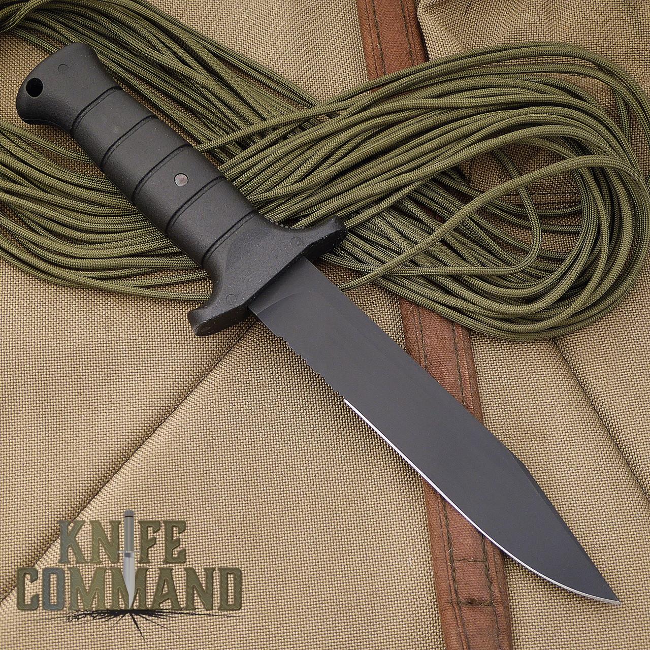 Eickhorn Solingen Wolverine German Expedition Knife. Clip point bowie hunter.
