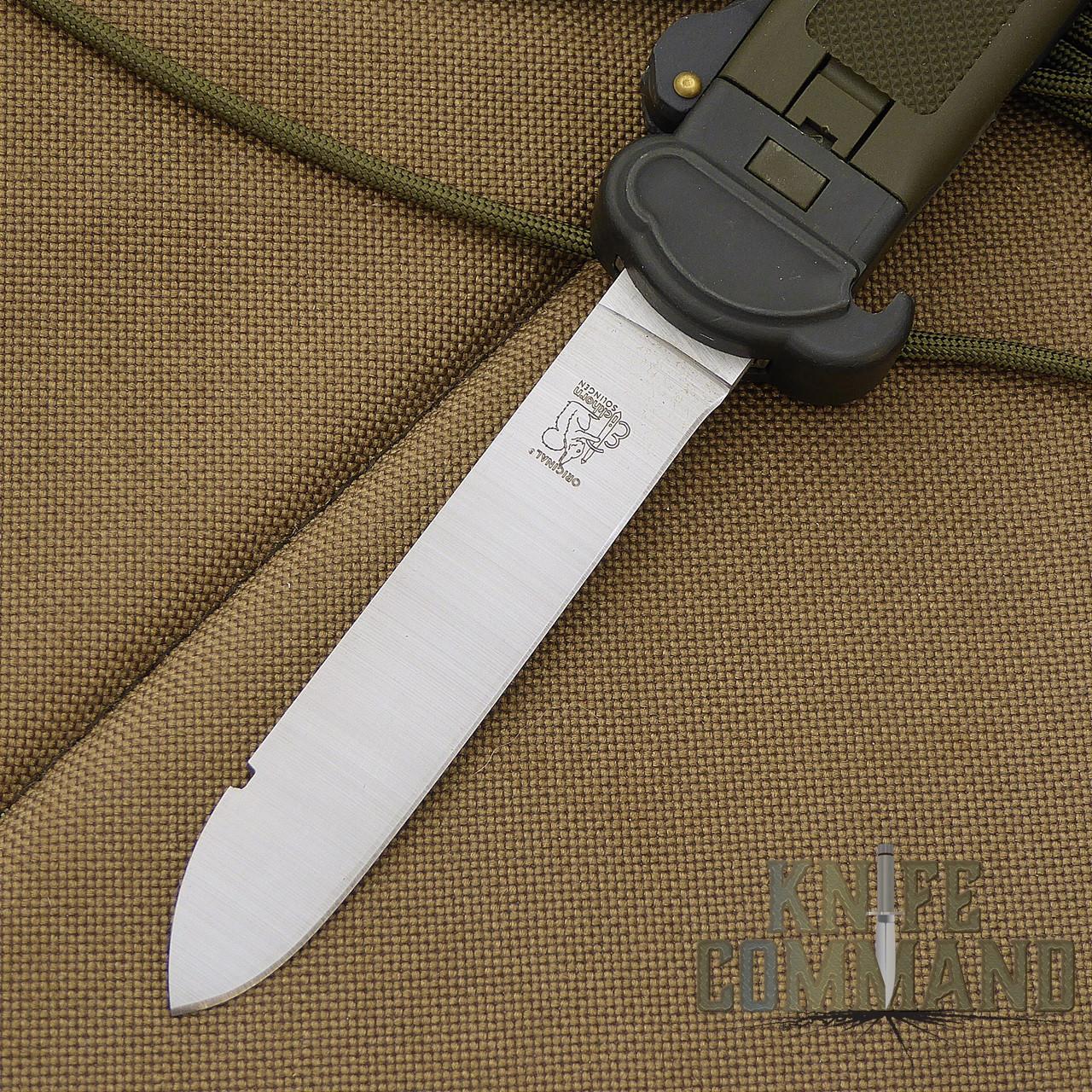 "Eickhorn Solingen LL100 Paratrooper Knife.  4"" drop point blade."