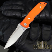 Fantoni HB 01 William Harsey Orange Combat Folder Tactical Knife
