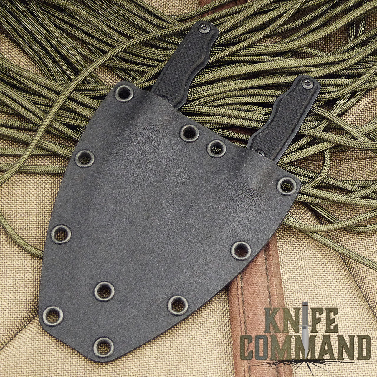 Eickhorn Solingen Eagle Claw Twin Neck Knife Set.  Two is better than one!