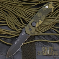 Eickhorn Solingen PRT X Digicam G10 Spearpoint Tactical Emergency Rescue Knife.  PRT-VIII now in Digicam.