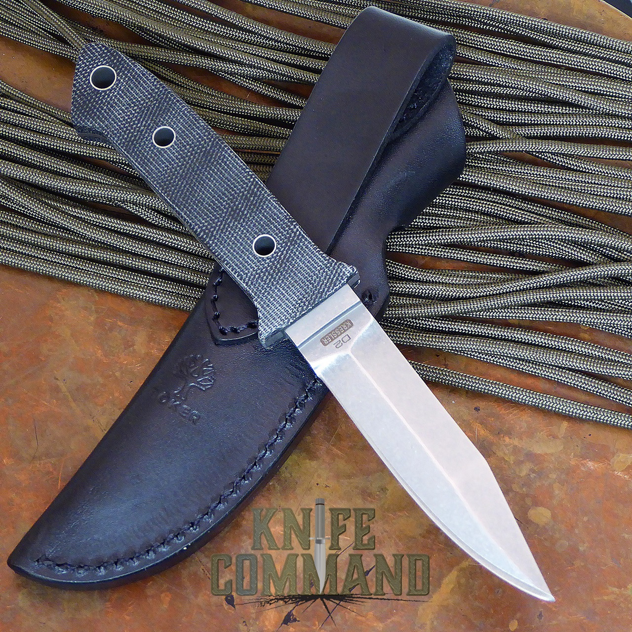 Boker Integrance Micarta Fixed Blade Knife.   Loveless inspired.
