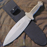 Boker Applegate Fairbairn Smatchet 2.1 Combat Knife 122578.  Huge.
