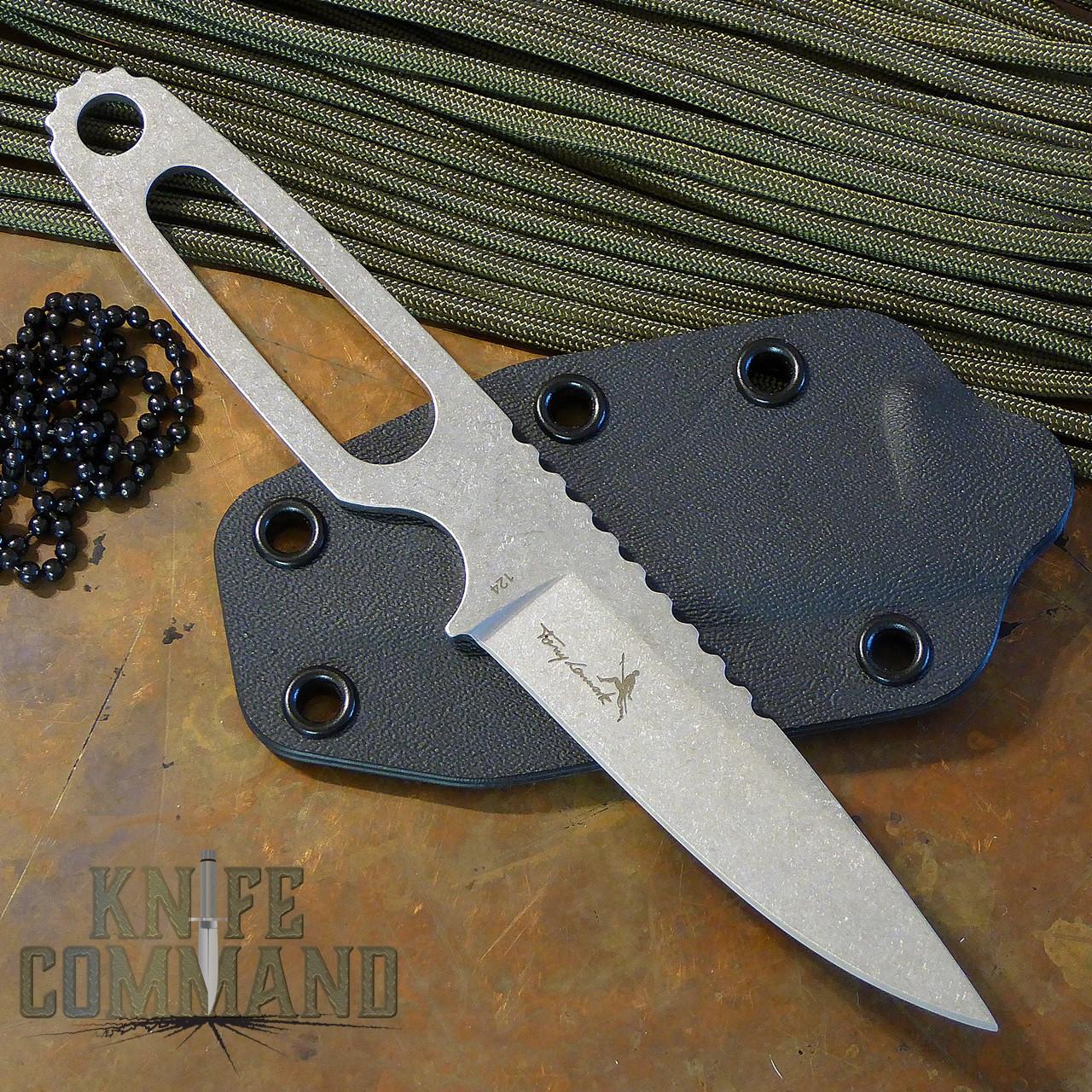Boker Para-1 Tony Lennartz Neck/Boot/Belt Knife 120651.  Lightweight and strong.