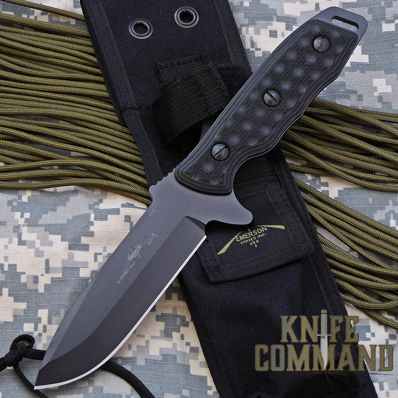 Emerson Government Mule Fixed Blade Knife BT.    When strength and reliability matters.