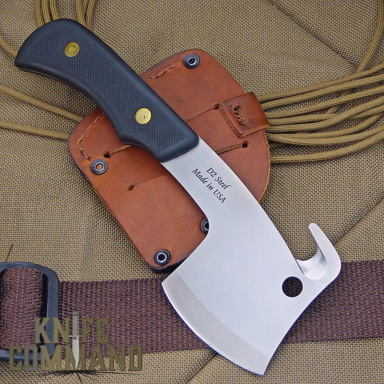 Knives of Alaska Bobcat Mini Hatchet 00960FG.  Nice bevel on both sides.
