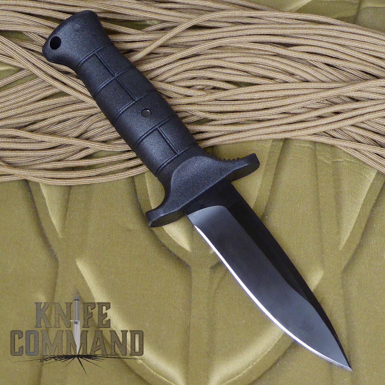 Eickhorn Solingen UK 2000 Lightweight Utility Combat Knife.  Tang through handle.