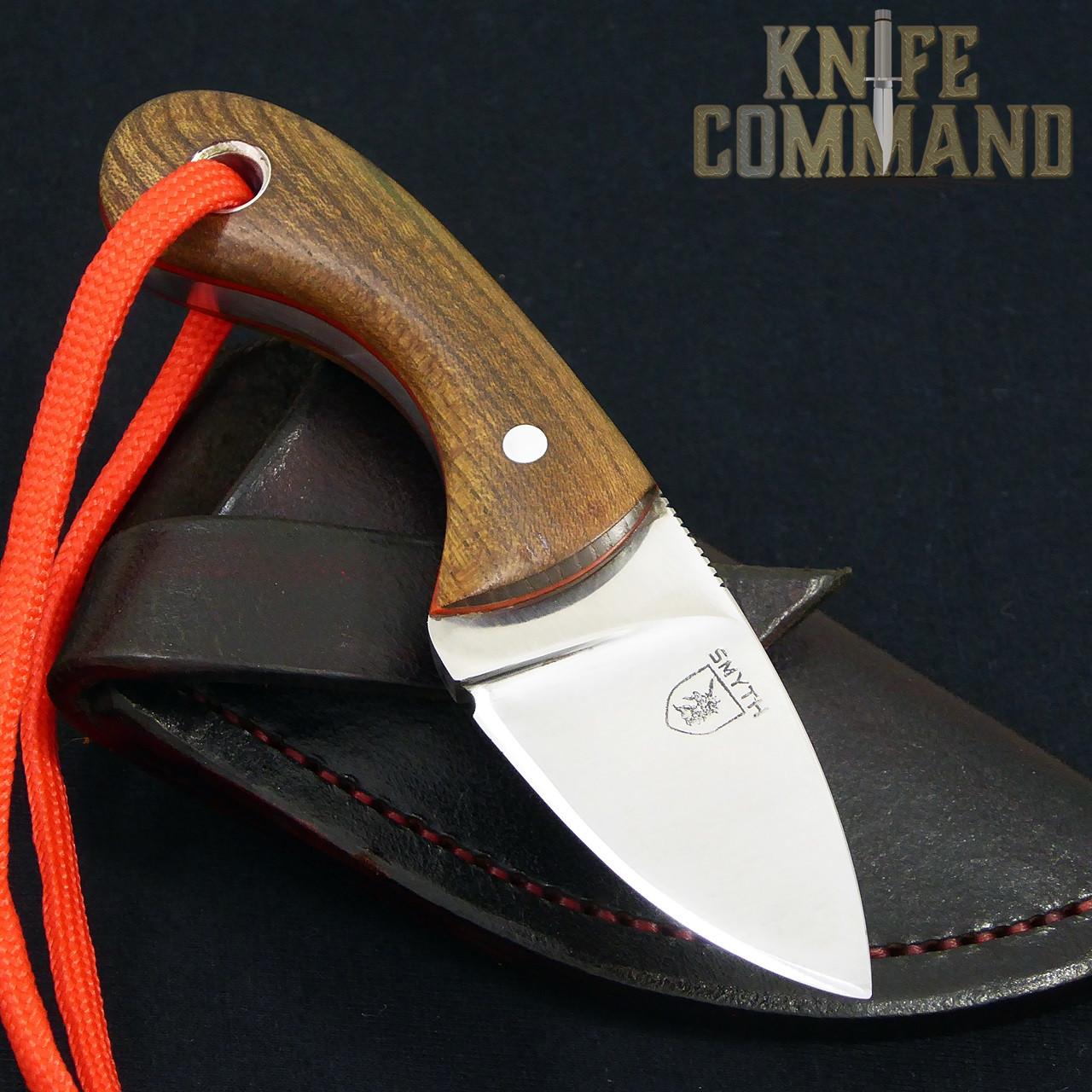 "Smyth Knives Irish Elm ""Pocket"" Knife.  Handmade in Ireland."