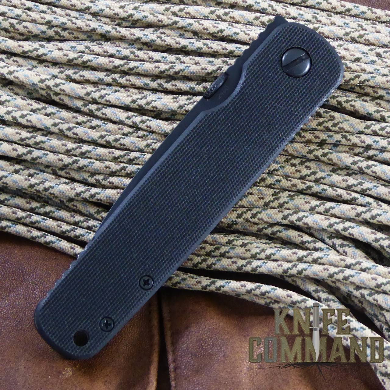 Emerson A100 BT Tactical Folding Knife 154CM.  Simple and strong.